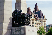 Ottawa (ON) CANADA - June 2008  File Photo --  War Monument