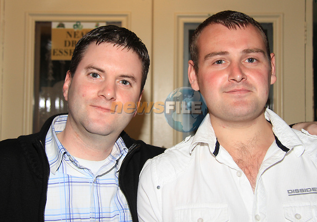 Brendan O' Connor and Gary Cunningham in Darby O' Gills..Picture: Shane Maguire / www.newsfile.ie.