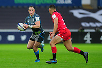Hanno Dirksen of Ospreys in action during the Heineken Champions Cup Round 5 match between the Ospreys and Saracens at the Liberty Stadium in Swansea, Wales, UK. Saturday January 11 2020.