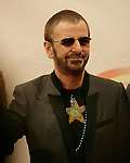 Ringo Star arrives for the premiere of 'The Beatles LOVE by Cirque du Soleil' at the Mirage hotel and casino in Las Vegas