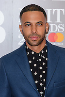 www.acepixs.com<br /> <br /> February 22 2017, London<br /> <br /> Marvin Humes arriving at The BRIT Awards 2017 at The O2 Arena on February 22, 2017 in London, England.<br /> <br /> By Line: Famous/ACE Pictures<br /> <br /> <br /> ACE Pictures Inc<br /> Tel: 6467670430<br /> Email: info@acepixs.com<br /> www.acepixs.com