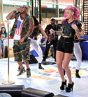 July 06, 2012 Flo Rida, StayC perform at the Toyota Concert Series on the Today Show  in New York City.Credit:© RW/MediaPunch Inc. /*NORTEPHOTO* <br />