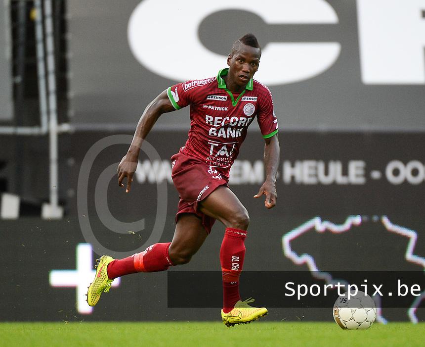 SV Zulte Waregem : Mamoutou N'Diaye  <br /> foto VDB / BART VANDENBROUCKE