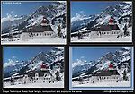 Austria, St Anton.  Stage Technique & Photoshop.<br />