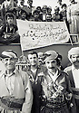 Irak 1991.Fete du PDK avec a gauche Hamid Efendi.Iraq 1991.Celebration of the KDP