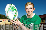 Irish rugby star Siobhain Fleming who scored a try in Ireland's victory over Scotland on Saturday which secured Ireland the Triple Crown for the first time ever ....