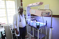 Dr R.K. Dubey, Block Medical Officer at the Community Health Centre in Rajpur, Barwani District, western Madhya Pradesh.