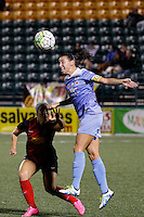 Rochester, NY - Friday July 01, 2016: Chicago Red Stars midfielder Vanessa DiBernardo (10) during a regular season National Women's Soccer League (NWSL) match between the Western New York Flash and the Chicago Red Stars at Rochester Rhinos Stadium.