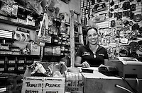 Elvia Luz Carrillo Cardenas. Hardware store owners in Culiacan, Sinaloa,  Mexico