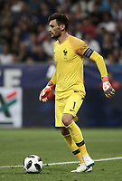 International friendly football match France vs Italy, Allianz Riviera, Nice, France, June 1, 2018. <br /> France's Captain and goalkeeper Hugo Lloris in action during the international friendly football match between France and Italy at the Allianz Riviera in Nice on June 1, 2018.<br /> UPDATE IMAGES PRESS/Isabella Bonotto
