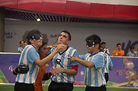 SÃO PAULO,SP, 21.03.2017 - PARAPAN-JUVENTUDE - Futebol de cinco - deficientes visuais- Argentina 1 x Brasil 0, jogo no CT Paralímpico Brasileiro, no Parapan da Juventude em São Paulo nesta terça-feira, 21. (Foto: Danilo Fernandes/Brazil Photo Press)
