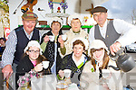 Getting the old cup of tea prepared for the gathering was Beaufort Pioneer's at the Killarney St Patricks Day parade on Sunday was l-r; Louise Kissane, Joan O'Connor, Aoife O'Brien. Back row: Neil O'Sullivan, Joan O'Brien, Bridie Shanahan, Michael Foley. ..