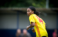 Otesha Charles of Watford Ladies during the pre season friendly match between Stevenage Ladies FC and Watford Ladies at The County Ground, Letchworth Garden City, England on 16 July 2017. Photo by Andy Rowland / PRiME Media Images.