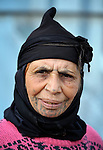 Manfita Al-Ahmed, a 60-year old woman refugee from Syria, lives in a makeshift shelter in the village of Jeb Jennine, in Lebanon's Bekaa Valley. She and other refugees in the area are being assisted by International Orthodox Christian Charities and other members of the ACT Alliance..