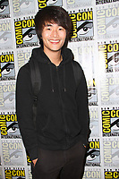 SAN DIEGO - July 21:  Christopher Larkin at Comic-Con Friday 2017 at the Comic-Con International Convention on July 21, 2017 in San Diego, CA