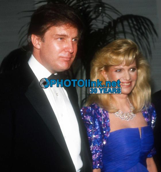 Ivana Trump and Donald Trump Undated<br /> Photo By John Barrett/PHOTOlink
