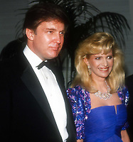 Ivana Trump and Donald Trump Undated<br /> Photo By John Barrett/PHOTOlink