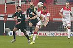 18.01.2020, Merkur Spielarena, Duesseldorf , GER, 1. FBL,  Fortuna Duesseldorf vs. SV Werder Bremen,<br />  <br /> DFL regulations prohibit any use of photographs as image sequences and/or quasi-video<br /> <br /> im Bild / picture shows: <br /> Leonardo Bittencourt (Werder Bremen #10), im Zweikampf gegen  Markus Suttner (Fortuna Duesseldorf #29), <br /> <br /> Foto © nordphoto / Meuter