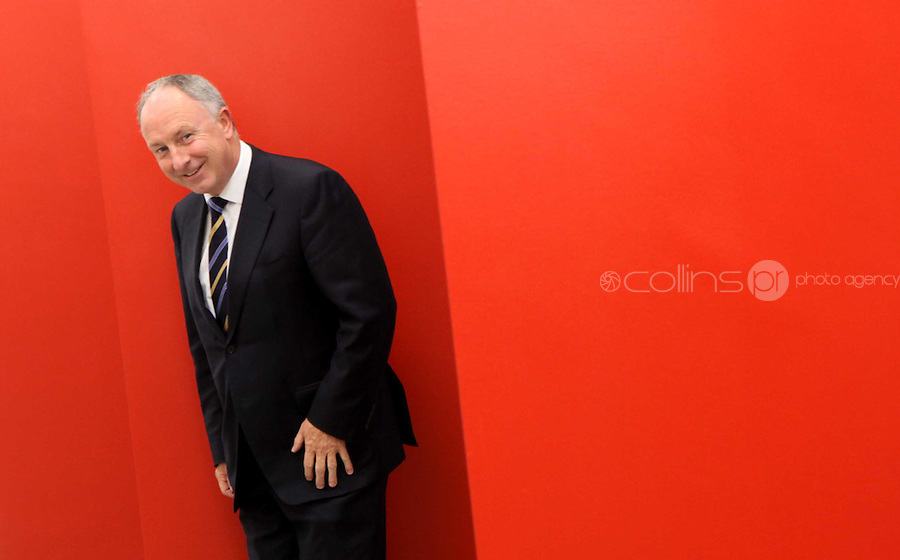 21/07/2009.Minister for Justice, Equality and Law Reform, Mr. Dermot Ahern T.D during a  visit to the new office of the Irish Film Classification Office (IFCO) and officially launch their new online DVD consumer advice service at their offices in smithfield, dublin..Photo: Gareth Chaney Collins
