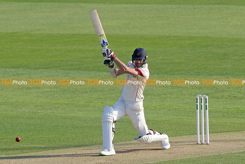 James Anderson in batting action for Essex during Essex CCC vs Lancashire CCC, Specsavers County Championship Division 1 Cricket at The Cloudfm County Ground on 7th April 2017