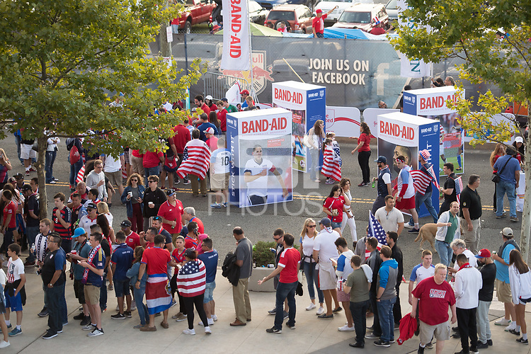 Harrison, NJ - Friday, September 1 2017: USMNT vs Costa Rica Sponsorship.
