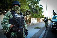 Guardia Nacional en Filtros Covid