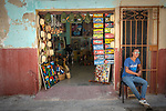Havana, Cuba:<br /> Street vendor