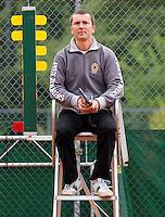 18-08-10, Tennis, Amstelveen, NTK, Nationale Tennis Kampioenschappen, Umpire Vermeulen
