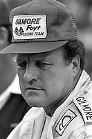 INDIANAPOLIS, IN - MAY 24: AJ Foyt waits to drive his  Coyote 81 1/Cosworth during practice for the Indianapolis 500 USAC/CART Indy Car race at the Indianapolis Motor Speedway in Indianapolis, Indiana, on May 24, 1981.