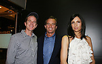 Matthew Modine and Robert F. Kennedy Jr. and Famke Janssen (Nip Tuck and Melrose Place) at the New York Screening of The Cove, Cinema 2, NYC. (Photo by Sue Coflin/Max Photos)