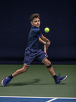 Hilversum, Netherlands, December 4, 2016, Winter Youth Circuit Masters, Noah Gabriel (NED)<br /> Photo: Tennisimages/Henk Koster