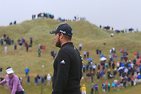 Tyrrell Hatton (ENG) on the 6th green during Round 2 of the Irish Open at LaHinch Golf Club, LaHinch, Co. Clare on Friday 5th July 2019.<br /> Picture:  Thos Caffrey / Golffile<br /> <br /> All photos usage must carry mandatory copyright credit (© Golffile | Thos Caffrey)