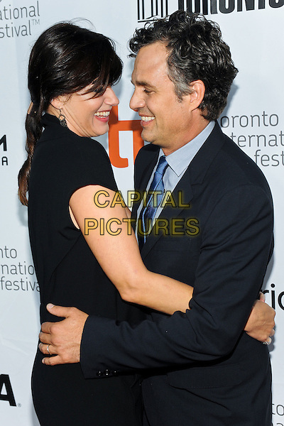 08 September 2014 - Toronto, Canada - Sunrise Coigney, Mark Ruffalo<br /> .  &quot;Foxcatcher&quot; Premiere during the 2014 Toronto International Film Festival held at Roy Thomson Hall.  <br /> CAP/ADM/BPC<br /> &copy;Brent Perniac/AdMedia/Capital Pictures
