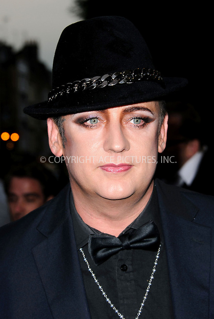 WWW.ACEPIXS.COM....US SALES ONLY....September 4, 2012, London, England.....Boy George arriving at the GQ Men of the Year Awards at the Royal Opera House on September 4, 2012 in London.......By Line: Famous/ACE Pictures....ACE Pictures, Inc..Tel: 646 769 0430..Email: info@acepixs.com