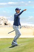 Matteo Manassero (ITA) during the ProAm ahead of the Rocco Forte Sicilian Open played at Verdura Resort, Agrigento, Sicily, Italy 09/05/2018.<br /> Picture: Golffile | Phil Inglis<br /> <br /> <br /> All photo usage must carry mandatory copyright credit (&copy; Golffile | Phil Inglis)