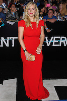 """WESTWOOD, LOS ANGELES, CA, USA - MARCH 18: Kate Winslet at the World Premiere Of Summit Entertainment's """"Divergent"""" held at the Regency Bruin Theatre on March 18, 2014 in Westwood, Los Angeles, California, United States. (Photo by Xavier Collin/Celebrity Monitor)"""