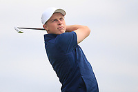 Conor Purcell of Team Ireland on the 3rd tee during Round 3 of the WATC 2018 - Eisenhower Trophy at Carton House, Maynooth, Co. Kildare on Friday 7th September 2018.<br /> Picture:  Thos Caffrey / www.golffile.ie<br /> <br /> All photo usage must carry mandatory copyright credit (&copy; Golffile | Thos Caffrey)