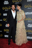 www.acepixs.com<br /> January 17, 2017  New York City<br /> <br /> Matthew McConaughey and Camilla Alves attending The World Premiere of 'Gold' at AMC Loews Lincoln Square 13 theater on January 17, 2017 in New York City.<br /> <br /> <br /> Credit: Kristin Callahan/ACE Pictures<br /> <br /> Tel: 646 769 0430<br /> Email: info@acepixs.com