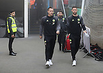 Chelsea's John Terry and Gary Cahill arrive for the match during the Premier League match at Selhurst Park Stadium, London. Picture date December 17th, 2016 Pic David Klein/Sportimage