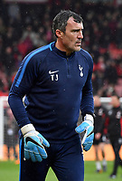Tottenham Hotspur First team goalkeeping coach Toni Jim&eacute;nez<br /> <br /> Bournemouth 1 - 4 Tottenham Hotspur <br /> <br /> Photographer David Horton/CameraSport<br /> <br /> The Premier League - Bournemouth v Tottenham Hotspur - Sunday 11th March 2018 - Vitality Stadium - Bournemouth<br /> <br /> World Copyright &copy; 2018 CameraSport. All rights reserved. 43 Linden Ave. Countesthorpe. Leicester. England. LE8 5PG - Tel: +44 (0) 116 277 4147 - admin@camerasport.com - www.camerasport.com