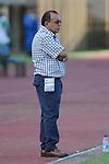 Foto6: ITAGÜÍ – COLOMBIA _ 16-11-2013 / En juego correspondiente a la primera jornada del grupo A de los cuadrangulares semifinales del Torneo Clausura Colombiano 2013, Itagüí FC cayó en su propio estadio, el metropolitano de Ditaires, 1 – 0 ante Atlético Junior. / Jorge Luis Bernal, DT de Itagüí.