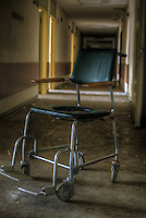 An old abandoned hospital somwhere in the former East Germany