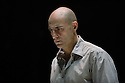 London, UK. 08.04.2014. A VIEW FROM THE BRIDGE, by Arthur Miller, opens at the Young Vic. Directed by Ivo Van Hove, design and light by Jan Versweyveld and costumes by An D'Huys. Picture shows: Mark Strong (Eddie). Photograph © Jane Hobson.