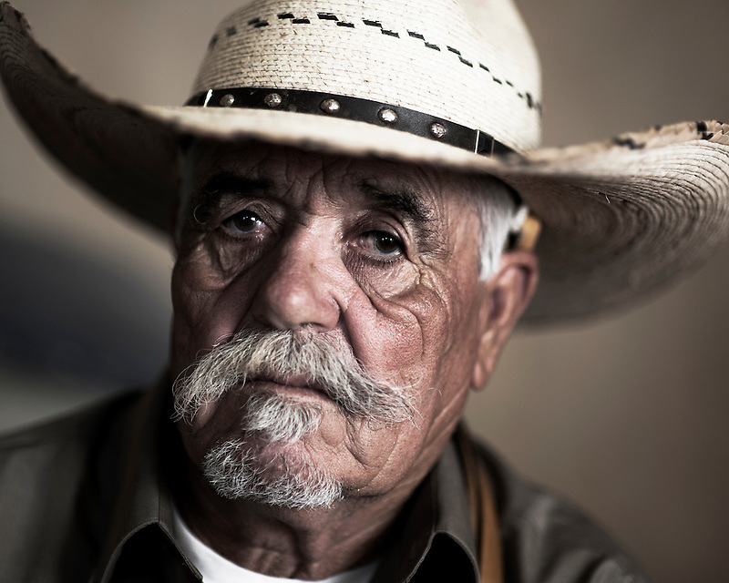 United Farmworker member and long-time farm worker Gonzalo Picazo at his home in Salinas, Calif.