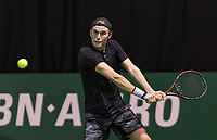 Rotterdam, Netherlands, 10 februari, 2018, Ahoy, Tennis, ABNAMROWTT,  Supermatch semifinal: Thorsten Sollie (NED)<br /> Photo: Henk Koster/tennisimages.com