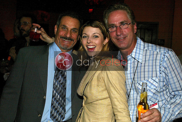 Neil Hurs with Rachel Perry and Jack Silver<br />at the Adam Carolla Show launch party. The Highlands, Hollywood, CA. 01-12-06<br />Jason Kirk/DailyCeleb.com 818-249-4998