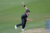 Matt Henry (New Zealand) in action during West Indies vs New Zealand, ICC World Cup Warm-Up Match Cricket at the Bristol County Ground on 28th May 2019