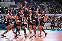 Japan Men's Volleyball Team Group (JPN), DECEMBER 4,2011 - Volleyball : FIVB Men's Volleyball World Cup 2011,4th Round Tokyo(A) during match between Japan 0-3 Brazil at 1st Yoyogi Gymnasium, Tokyo, Japan. (Photo by Jun Tsukida/AFLO SPORT) [0003]