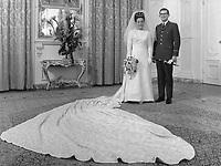 Huwelijk prinses Margriet en mr. Pieter van Vollenhoven.<br /> *10 januari 1967