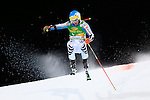 Felix Neureuther competes during the FIS Alpine Ski World Cup Men's Parallel Giant Slalom in Alta Badia, on December 21, 2015. Norway's Kjetil Jansrud wins the race, Aksel Lund Svindal second and Sweden's Andre Myrher is third.